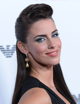 Festive Hairstyles: Jessica Lowndes