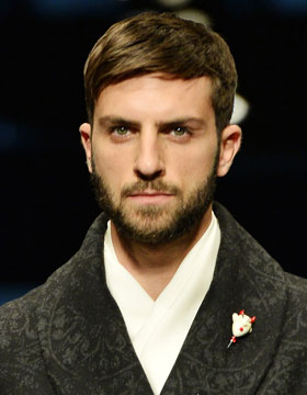 Short Haircut in Combination with a Beard