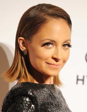 Prom Ball Hairstyles: Nicole Richie