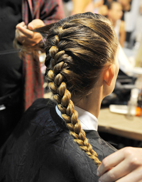 French Plait: The Classic