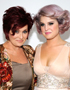 Mother-Daughter Hairstyles: Sharon and Kelly Osbourne
