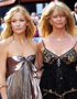 Mother-Daughter Hairstyles: Kate Hudson & Goldie Hawn