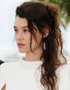 Updos for the Summer Season: Astrid Bergès-Frisbey