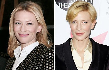 Short hair: Cate Blanchett