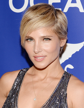 Styling with Hair Oil: Elsa Pataky