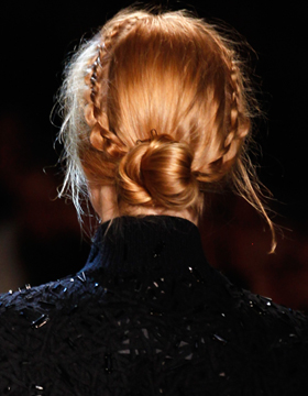 Braided Chignon with a Twist