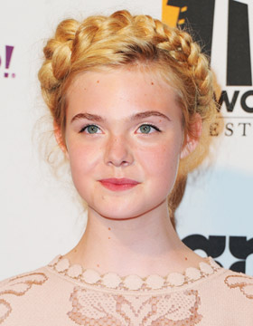 Braided Hairstyles: Elle Fanning