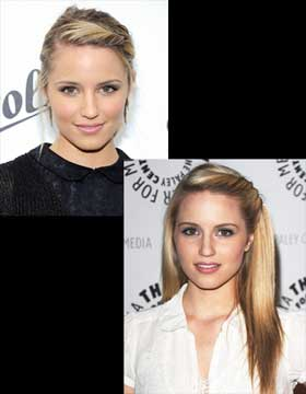 Popular Twirled Hairstyles: Dianna Agron