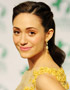Emmy Rossum and her Romantic Hairstyle