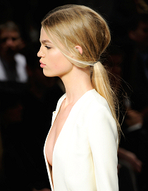 Summer Hair Styles 2011: Low Ponytail – High Profile