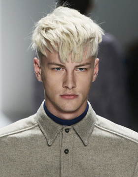 Men's Hairstyles with Fringes: Pointy