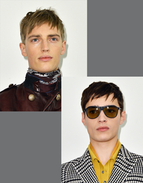 Men's Hairstyles with Fringes: Short and Irregular
