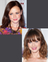 Celebrity Hairstyles: Alexis Bledel
