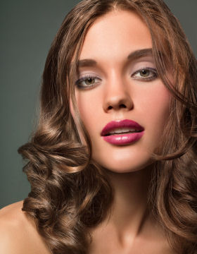 Hair Style Consultation: Sophisticated Style for Large Curls
