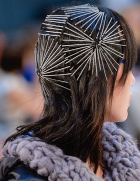Bobby pins as a work of art