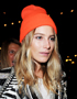 Hairstyle-Hat Combinations:Dree Hemingway